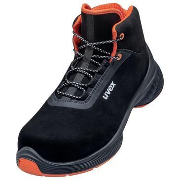 uvex Stiefel 6850 schwarz PUR