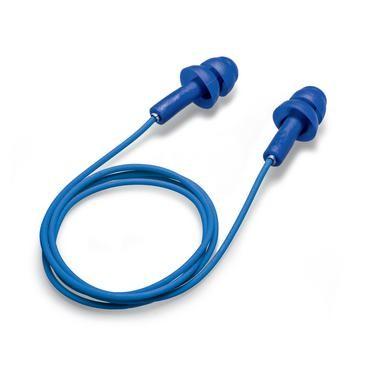 uvex Gehörschutzstöpsel whisper+, blau, SNR 27 dB, Größe M - Inhalt: 50 Stück