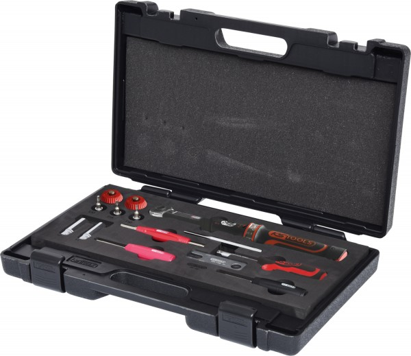 KS Tools RDKS - TPMS Werkzeug-Satz für Reifendruck-Kontrollsysteme, 13-tlg